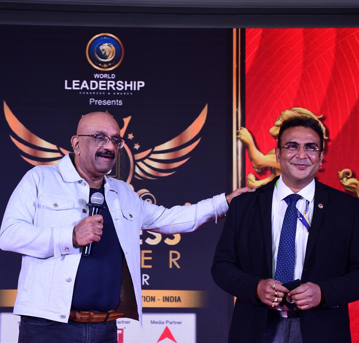 Debabrata Sarkar, Presidente de la filial de AlgaEnergy en la India, elegido 'Leader of the Year' en el World Leadership Congress